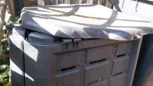 Thermokomposter defekt